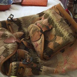 Turkish Kilim backpack